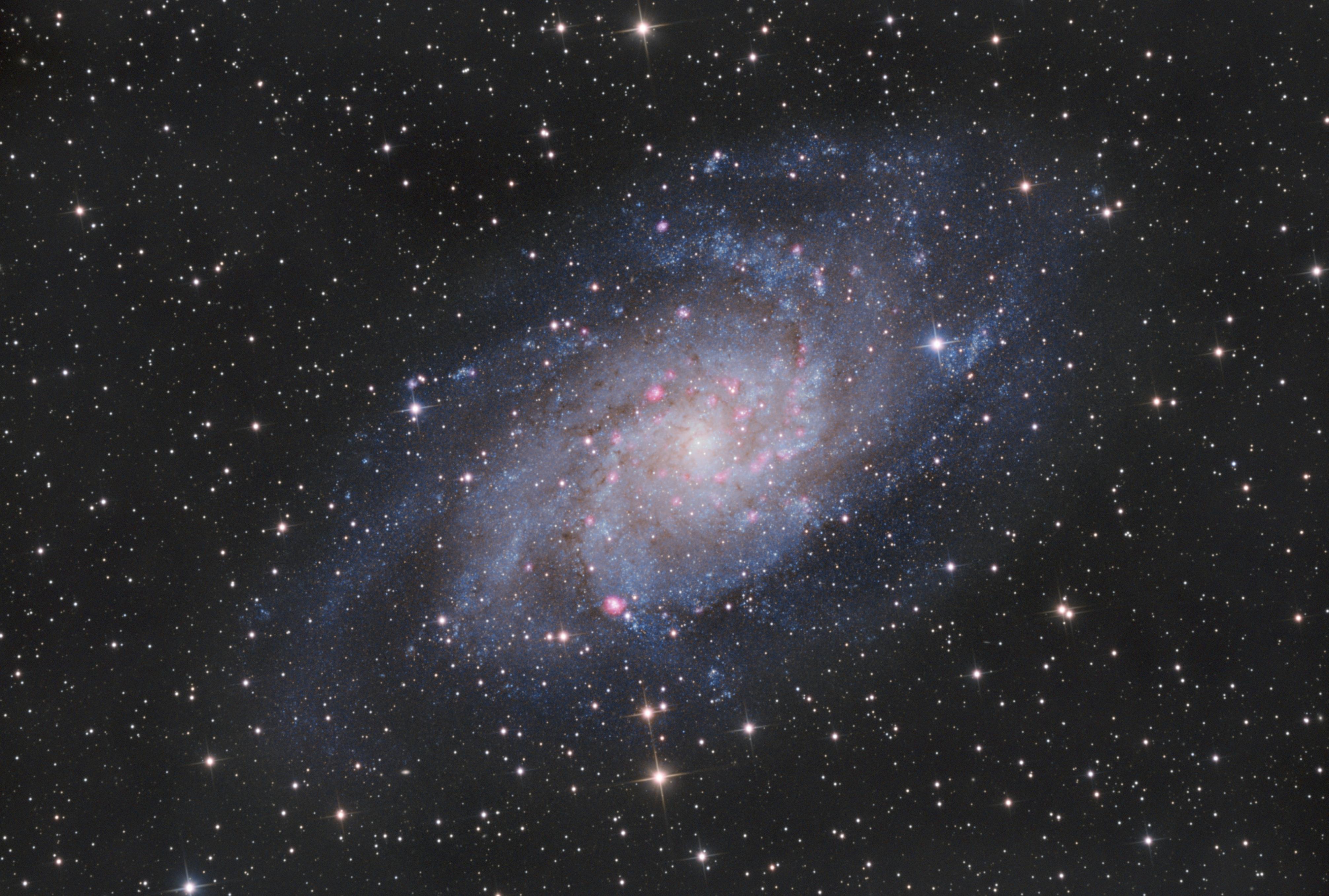 M33 HaRGB – Podgarić