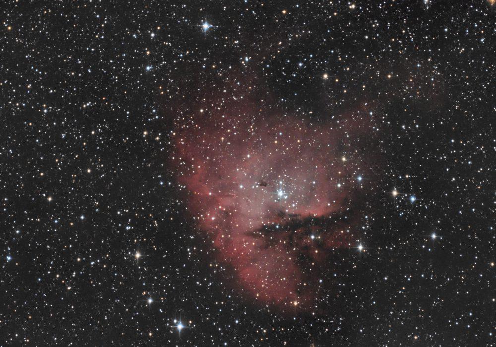 NGC281 Packman nebula sa IDAS D2 Filterom – Samobor Center