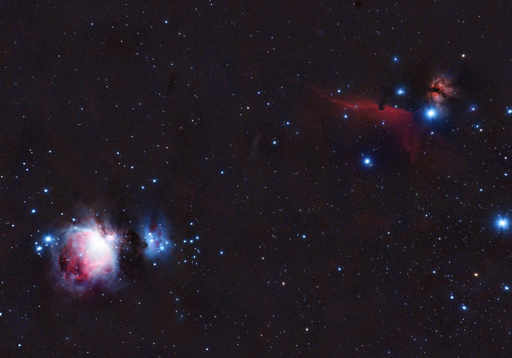M42 i Hourse Head nebula