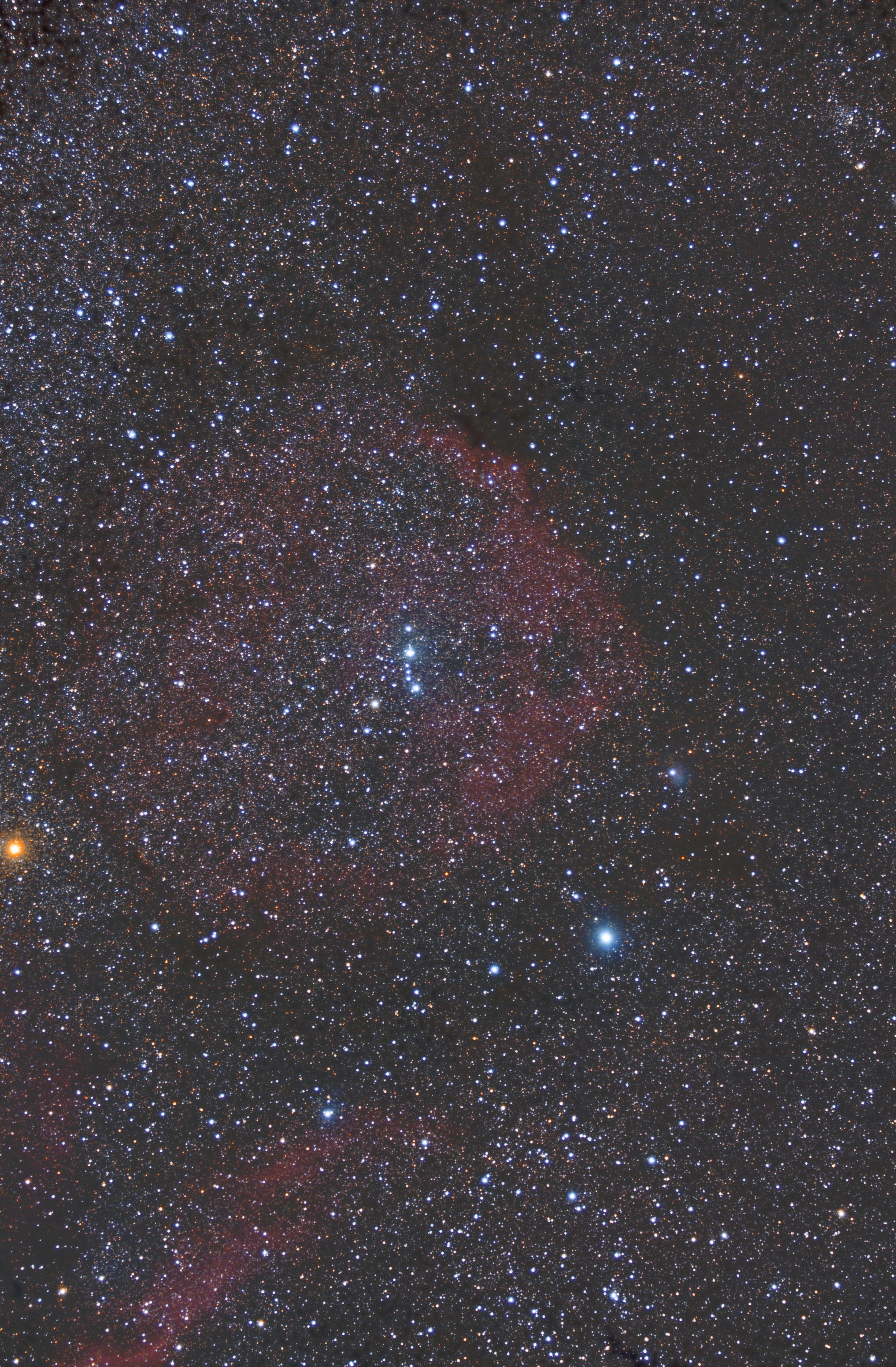 Sh2-264 Angelfish Nebula