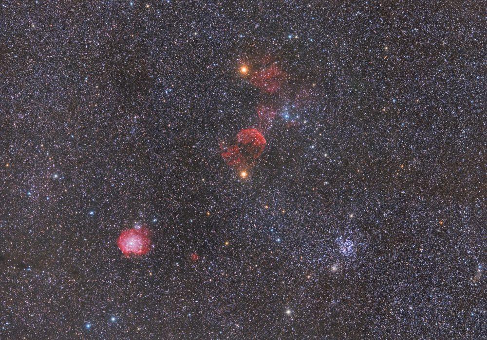 Jellyfish, Monkey Head, M35 wide field