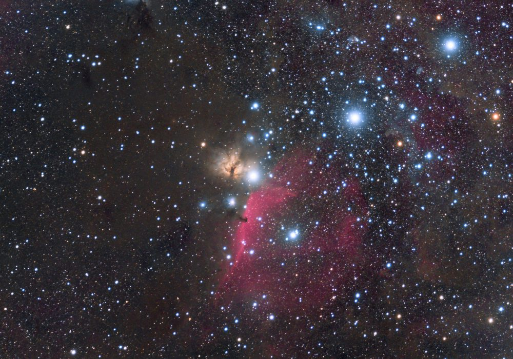 M42 – Horse Head Widefield