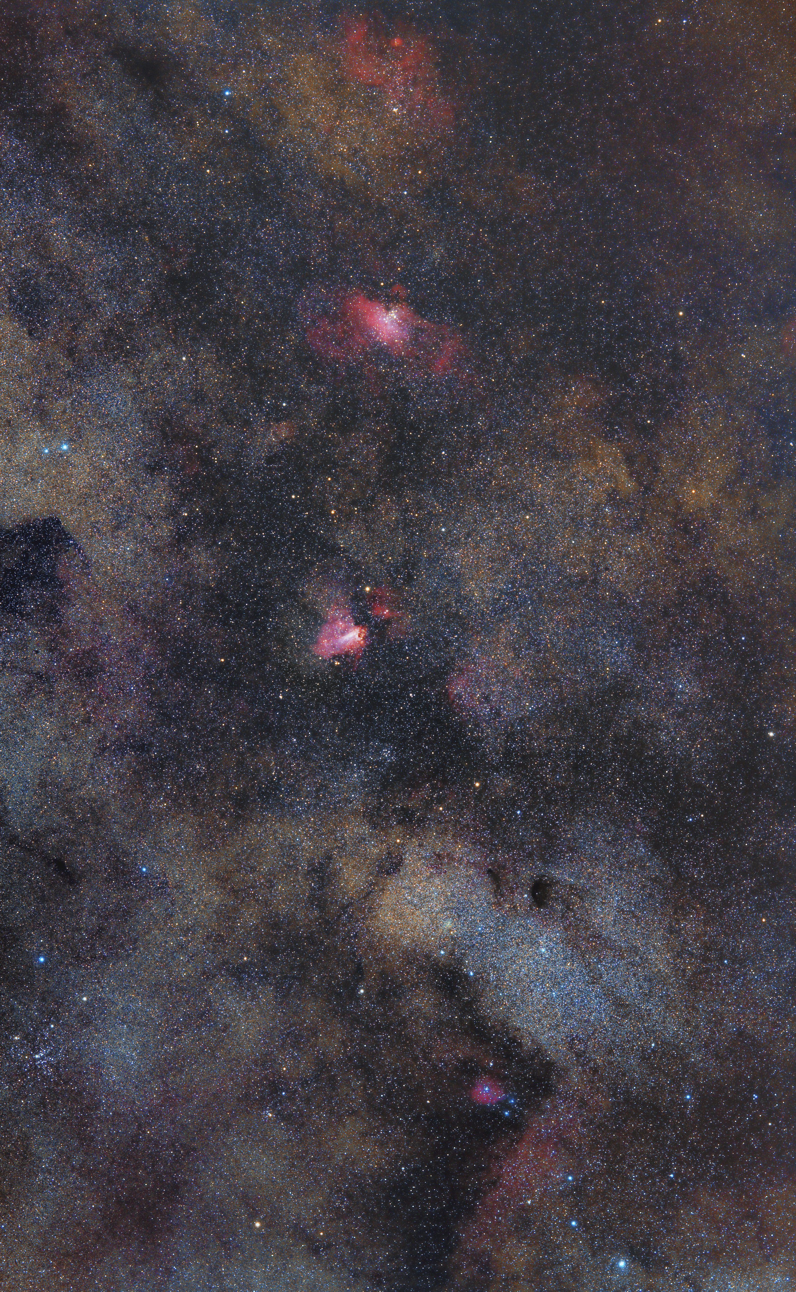 Sagittarius Star Cloud i M16 M17