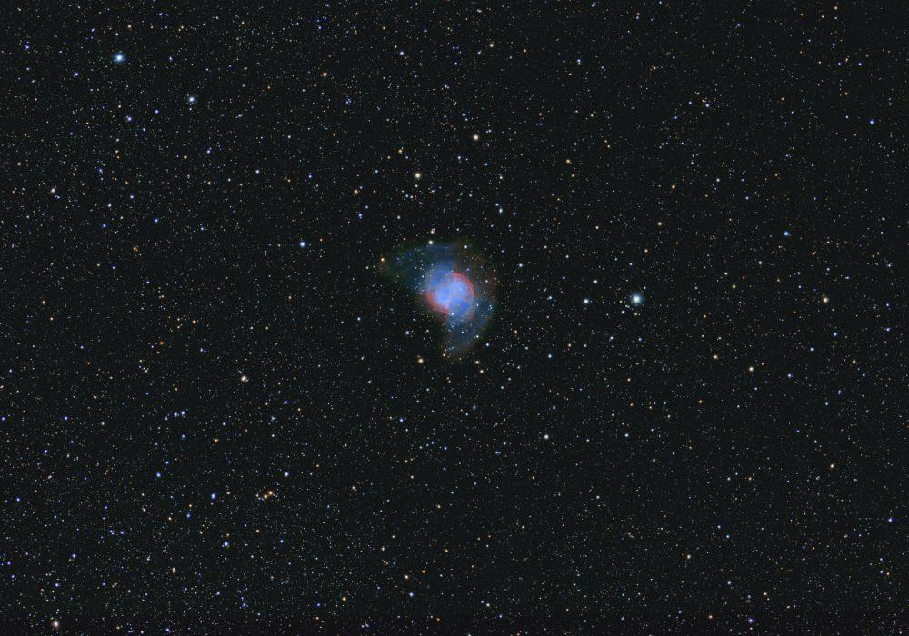 M27 Dumbbell Nebula HOO