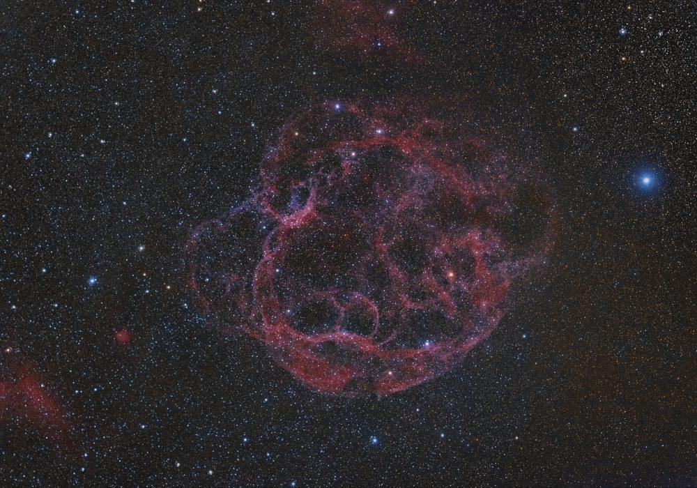 sh2-240 spaghetti nebula