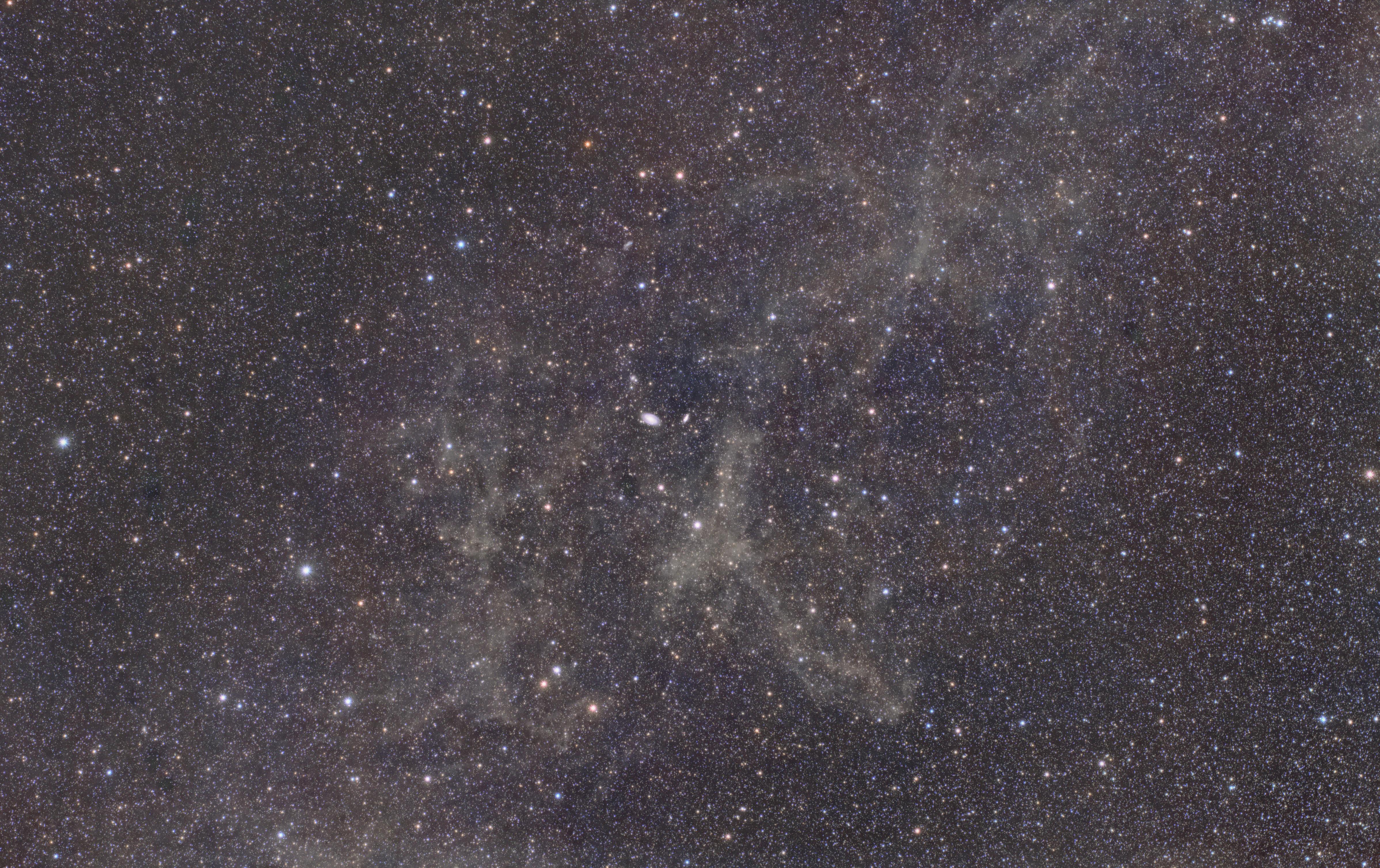 integrated flux nebula ( IFN )