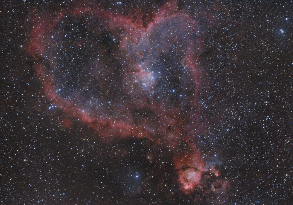 Heart Nebula –  IC 1805, Sharpless 2-190